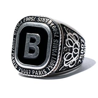 Balenciaga - UOMO掲載 バレンシアガ シグネットリング シグネイチャー 指輪