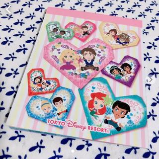 ディズニー(Disney)のDisney プリンセス メモ帳(ノート/メモ帳/ふせん)