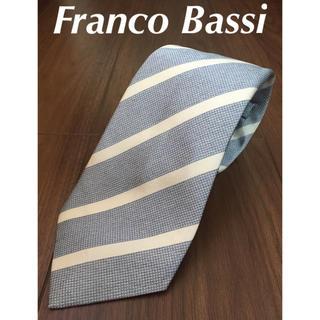 FRANCO BASSI - 【美品】フランコバッシ  ネクタイ