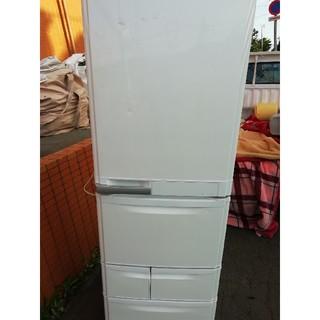 ミツビシ(三菱)の札幌市近郊にお住いの方限定!配達無料!三菱 401L 5ドアノンフロン冷凍冷蔵庫(冷蔵庫)