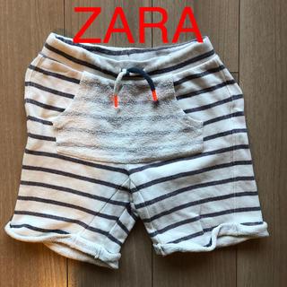 ザラ(ZARA)のZARA  ボーダーハーフパンツ   122cm(パンツ/スパッツ)
