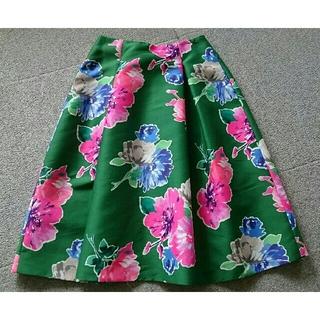 ケイトスペードニューヨーク(kate spade new york)の《未使用タグ付き》 ケイト・スペード グリーン系 スカート(その他)