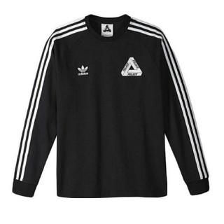 アディダス(adidas)のタグ付 M Palace adidas originals ロンT(Tシャツ/カットソー(七分/長袖))
