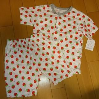 シマムラ(しまむら)の新品☆100 イチゴ柄パジャマ(パジャマ)