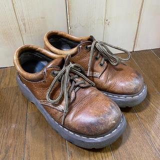 ドクターマーチン(Dr.Martens)の★美品 古着 ドクターマーチン ユーズド crisp LL 24.5 25cm(ローファー/革靴)