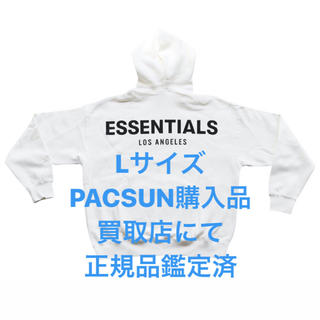 フィアオブゴッド(FEAR OF GOD)のFOG ESSENTIALS Los Angeles パーカー White L(パーカー)