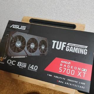 エイスース(ASUS)のりんくる様 TUF3 RX5700XT ASUS 8GBGAMING ばーちー様(PC周辺機器)