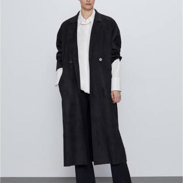 ZARA(ザラ)のZARAロングコート レディースのジャケット/アウター(ロングコート)の商品写真