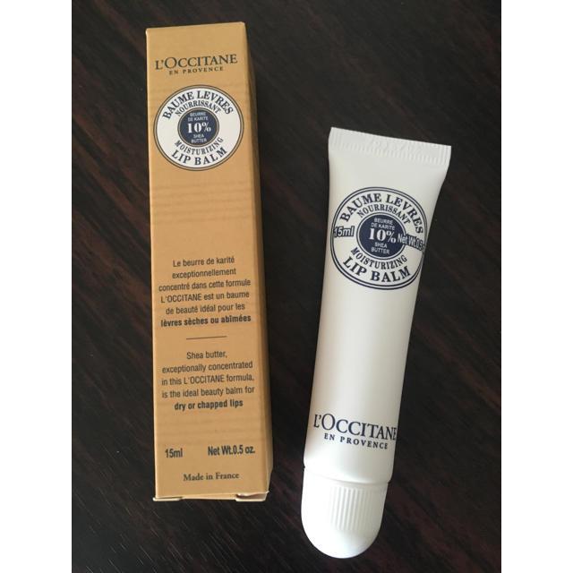 L'OCCITANE(ロクシタン)のロクシタン シア リップバーム コスメ/美容のスキンケア/基礎化粧品(リップケア/リップクリーム)の商品写真