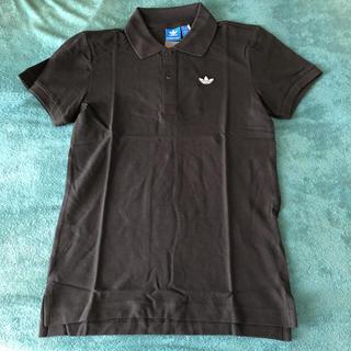 アディダス(adidas)のアディダス オリジナルス ポロシャツ 黒(ポロシャツ)