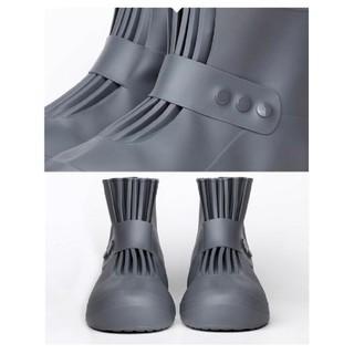 メンズ レイン シューズカバー レインブーツ 防水 靴カバー 28(長靴/レインシューズ)