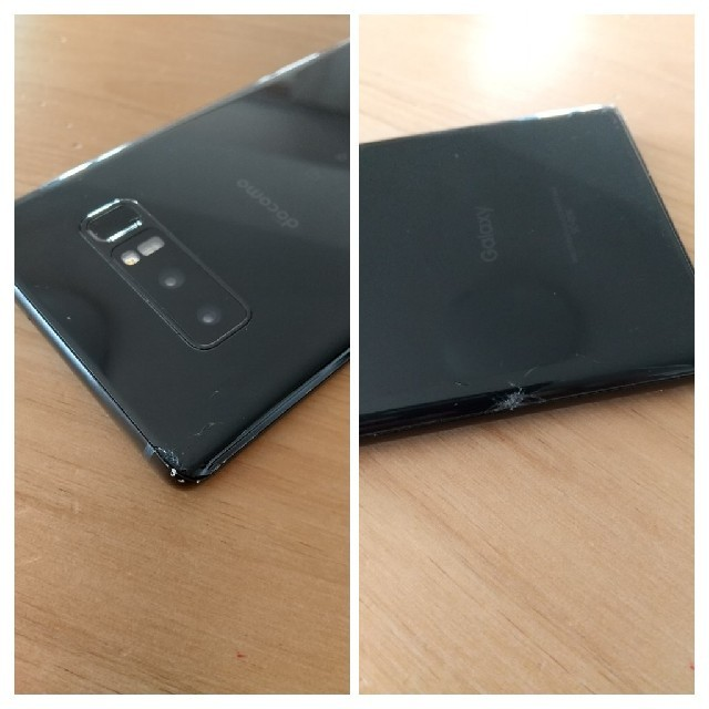 SAMSUNG(サムスン)のGalaxy Note 8 Black 64 GB docomo スマホ/家電/カメラのスマートフォン/携帯電話(スマートフォン本体)の商品写真