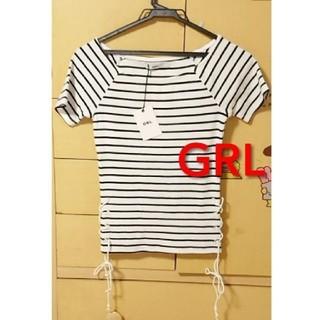 グレイル(GRL)のボーダー Tシャツ(Tシャツ/カットソー(半袖/袖なし))