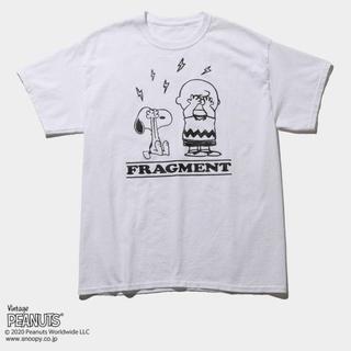 フラグメント(FRAGMENT)のLサイズ フラグメント ピーナッツ(Tシャツ/カットソー(半袖/袖なし))