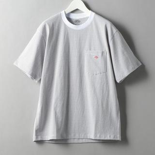 ダントン(DANTON)のDanton BORDER LOGO TEE/Tシャツ(Tシャツ/カットソー(半袖/袖なし))