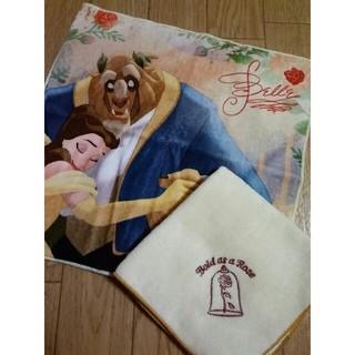 Disney - 美女と野獣 タオルハンカチセット