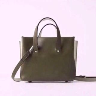 ザラ(ZARA)のZARA  マルチコンパートメントミニトートバッグ ショルダーバッグ  ザラ新品(ショルダーバッグ)