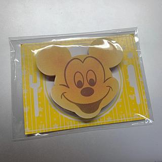 ディズニー(Disney)のミッキー レア メモ帳 パンケーキ(ノート/メモ帳/ふせん)