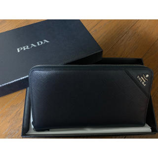 プラダ(PRADA)の新品未使用✩PRADA サフィアーノレザー(長財布)
