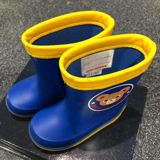 ミキハウス(mikihouse)のミキハウス 長靴 レインブーツ 13センチ(長靴/レインシューズ)