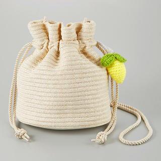 ジーユー(GU)の未使用 GU ケイタマルヤマ ニットドローストリングバッグ(ショルダーバッグ)