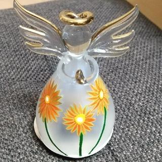 【marcy様専用】ガラス 天使 オルゴール【¥990普通郵便】(オルゴール)