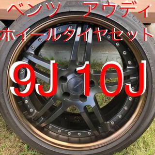 ベンツ アウディ 19インチ ワーク work ホイールセット 9J 10J