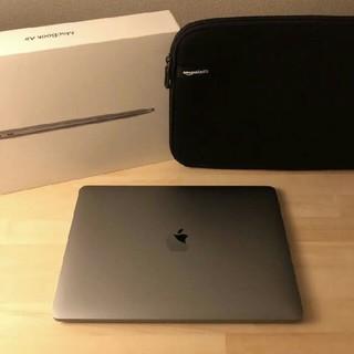Mac (Apple) - MacBook Air 2020 スペースグレイ ケース付き