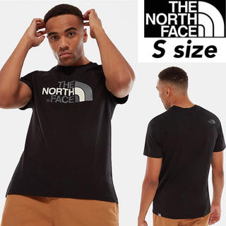 THE NORTH FACE - ノースフェイス イージー 半袖 ロゴ Tシャツ ブラック 男女共用 Sサイズ
