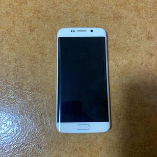 ギャラクシー(Galaxy)のgalaxy s6 edge ホワイト SCV31(スマートフォン本体)