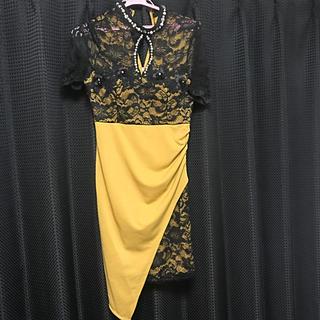 dazzy store - 辛子色ドレス
