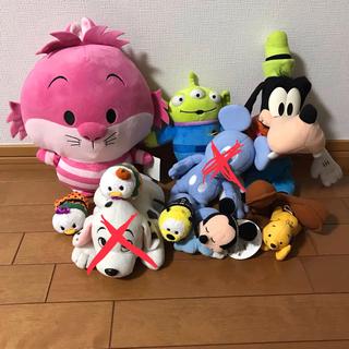 ディズニー(Disney)のディズニー ぬいぐるみ 9体(希望者は10体)まとめ売り(ぬいぐるみ)