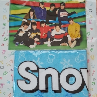 Johnny's - SnowManマフラータオルとセット