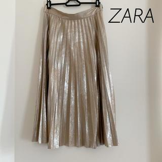 ザラ(ZARA)のZARA ロングスカート プリーツスカート(ロングスカート)