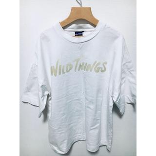 ワイルドシングス(WILDTHINGS)のワイルドWILD THINGS FLOCKING LOGO T(Tシャツ/カットソー(半袖/袖なし))