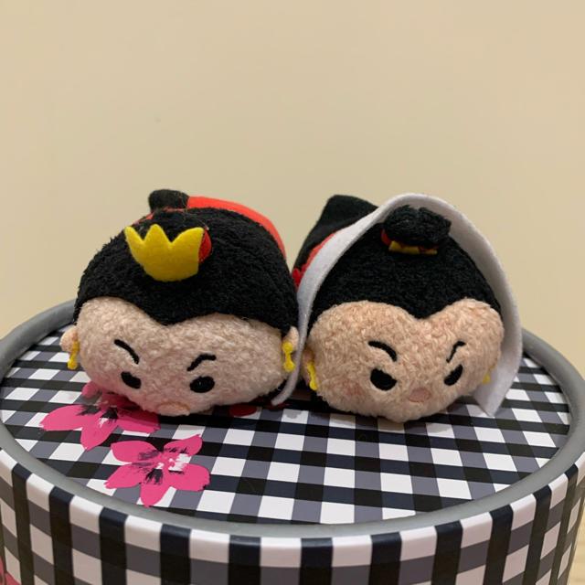 ふしぎの国のアリス(フシギノクニノアリス)のツムツム ハートの女王 セット エンタメ/ホビーのおもちゃ/ぬいぐるみ(ぬいぐるみ)の商品写真