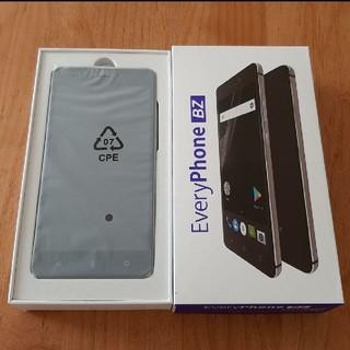 アンドロイド(ANDROID)の新品未使用 SIMフリースマートフォン EveryPhone BZ (スマートフォン本体)