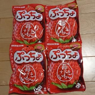 ユーハミカクトウ(UHA味覚糖)のぷっちょ 苺すぎるいちご UHA味覚糖(菓子/デザート)