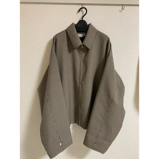SUNSEA - yoke 19aw CUT-OFF DRIZZLER JACKET