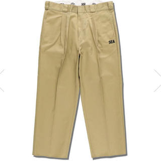 WIND AND SEA x DICKIES 2TUCK TROUSERS L