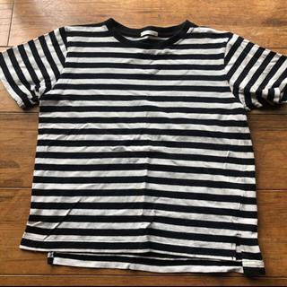 ジーユー(GU)のGUボーダーTシャツ 140サイズ(Tシャツ/カットソー)