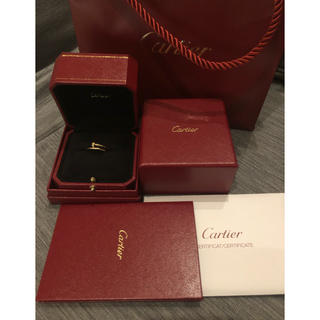 Cartier - cartier カルティエ ジュスト リング SM PG 53 付属品完備