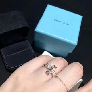 Tiffany & Co. - ティファニーTワイヤーダイヤモンドリング