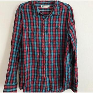チチカカ(titicaca)のチチカカ 長袖チェックシャツ メンズ L(シャツ)