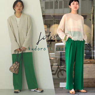 TODAYFUL - TODAYFUL■新品未使用■Georgette Rough Trousers