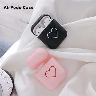 【お買い得☆】 2カラー AirPods用TPUシンプルケース(その他)
