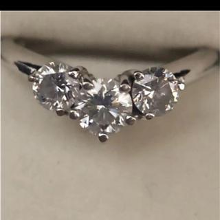 ジュエリーマキ(ジュエリーマキ)のk18 ダイヤモンドリング(リング(指輪))