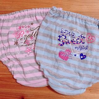シマムラ(しまむら)の子供用下着 キッズ 女児 インナー パンツ 綿100%  コットン(下着)