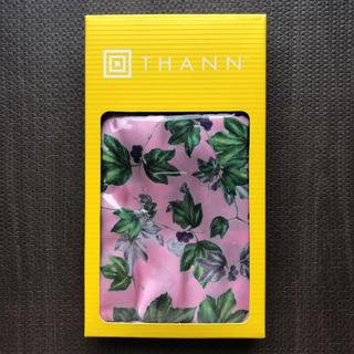 タン(THANN)の【新品未使用】THANN スカーフ ピンク(バンダナ/スカーフ)
