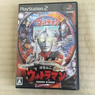 プレイステーション2(PlayStation2)のPS2ソフト ぱちんこウルトラマン パチってちょんまげ達人12(家庭用ゲームソフト)